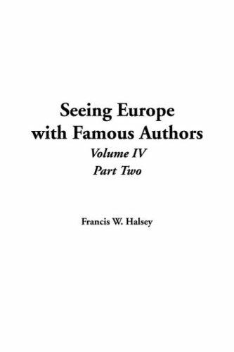 Download Seeing Europe With Famous Authors