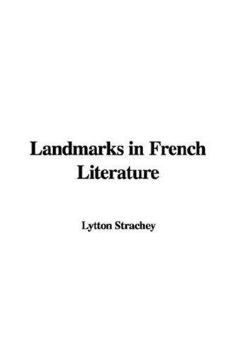 Download Landmarks In French Literature