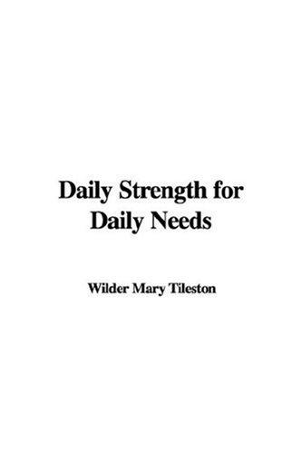 Download Daily Strength For Daily Needs