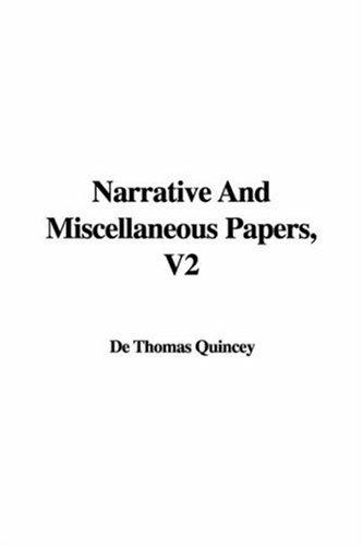 Download Narrative and Miscellaneous Papers