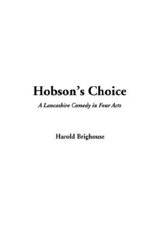 Download Hobson's Choice