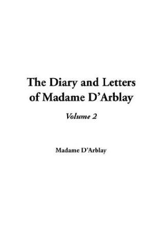 Download The Diary and Letters of Madame D'Arblay