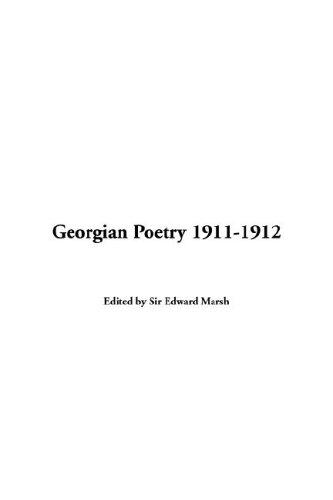 Download Georgian Poetry 1911-1912