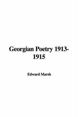 Download Georgian Poetry 1913-1915