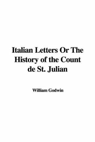 Download Italian Letters Or The History Of The Count De St. Julian