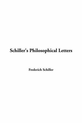 Download Schiller's Philosophical Letters