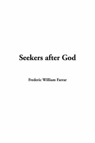 Seekers After God