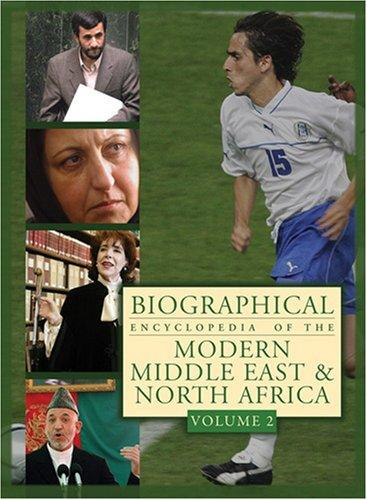 Biographical encyclopedia of the modern Middle East and North Africa Michael R. Fischbach