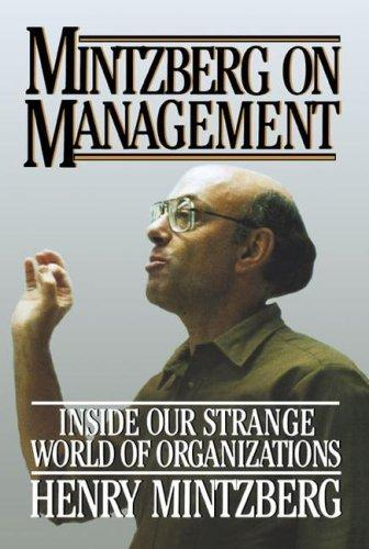 Download Mintzberg on Management