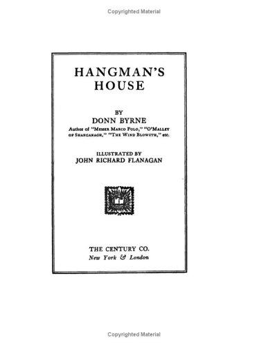 Download Hangman's House
