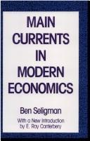 Main currents in modern economics