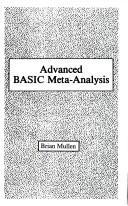 Download Advanced BASIC meta-analysis