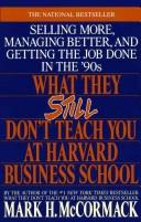 Download What they still don't teach you at Harvard Business School