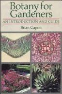 Download Botany for gardeners
