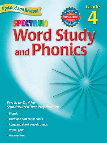 Spectrum Phonics, Grade 4