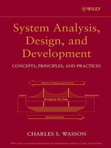 System Analysis, Design, and Development