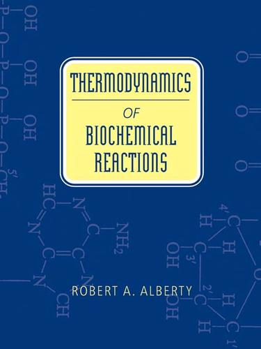 Thermodynamics of Biochemical Reactions