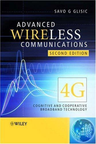Download Advanced Wireless Communications