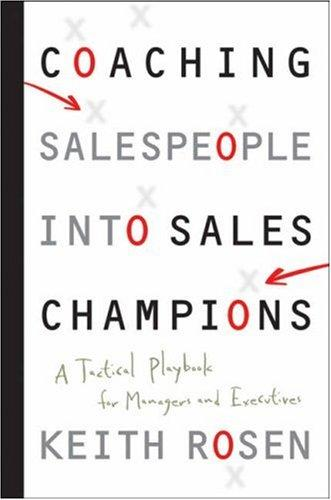 Download Coaching Salespeople into Sales Champions