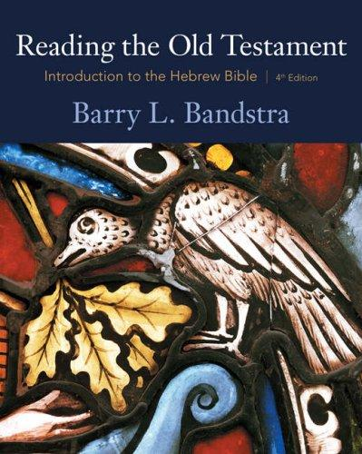 Download Reading the Old Testament
