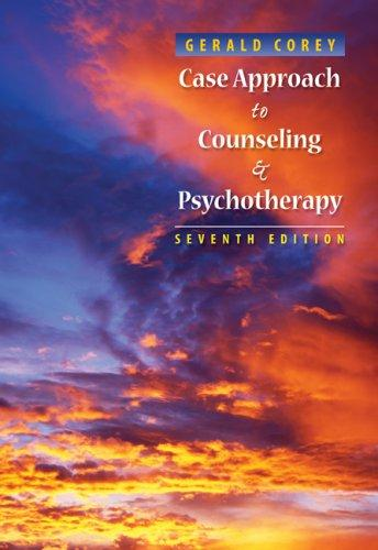 Download Case Approach to Counseling and Psychotherapy