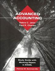 Study Guide With Working Papers In Excel To Accomany Advanced Accounting [By] Debra C. Jeter, Paul K. Chaney PDF Download