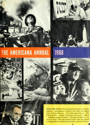 Cover of: The Americana annual, 1995 |
