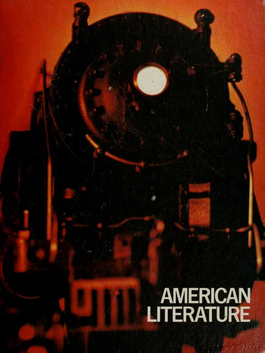 American literature; themes and writers by G. Robert Carlsen