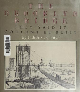 Cover of: The Brooklyn Bridge | Judith St George