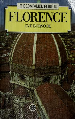 The companion guide to Florence : Eve Borsook : Free Download ...