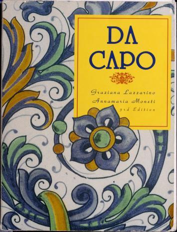 Cover of: Da capo | Graziana Lazzarino