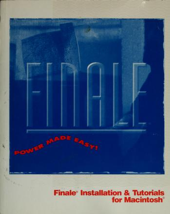 Cover of: Finale |
