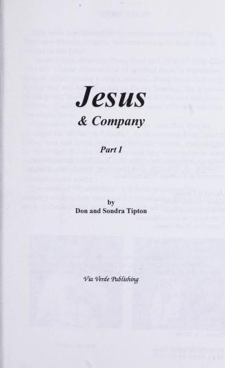 Jesus and Company by Don Tipton