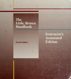 Cover of: The Little, Brown handbook | H. Ramsey Fowler