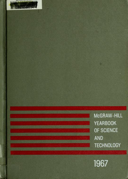 McGraw-Hill yearbook of science and technology by
