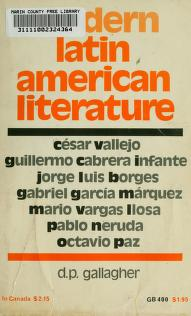 Cover of: Modern Latin American literature | D. P. Gallagher
