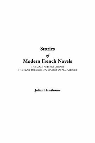 Stories Of Modern French Novels