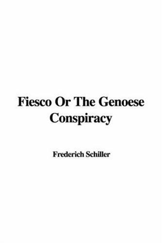Fiesco Or The Genoese Conspiracy
