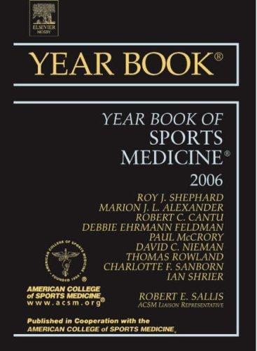 Year Book of Sports Medicine (Year Books)