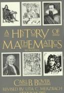 A history of mathematics by Carl B. Boyer