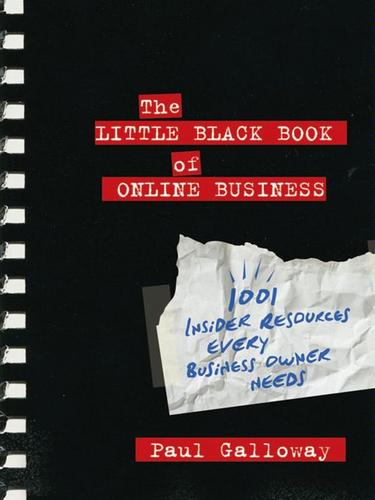 The little black book of online business by Paul Galloway