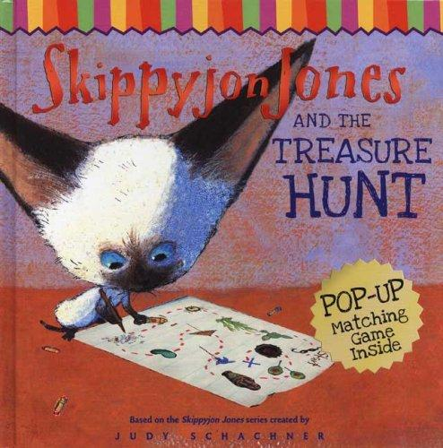 Skippyjon Jones and the Treasure Hunt (Skippyjon Jones) by Judy Schachner