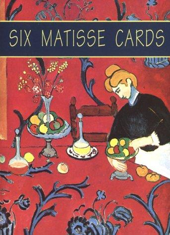 Six Matisse Cards by Henri Matisse